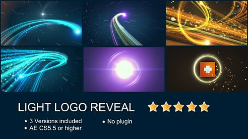 Light Logo Reveal - Project for After Effects (Videohive)
