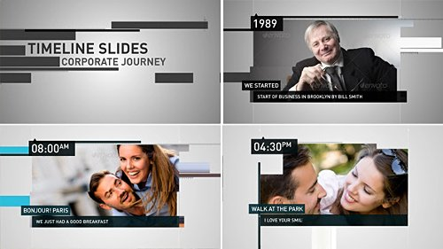 Timeline Slides - Project for After Effects (Videohive)
