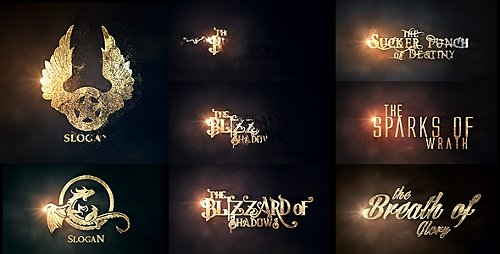 Burn To Be Gold - Project for After Effects (Videohive)