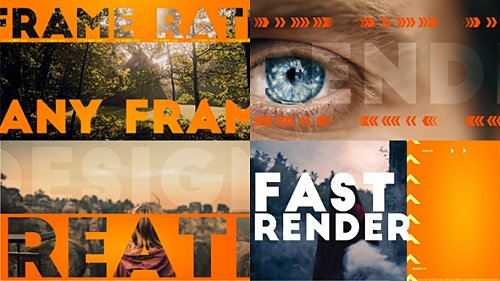 Faster Intro - Project for After Effects (Videohive)