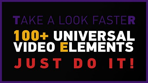 100+ Universal Video Elements Pack - Project for After Effects (Videohive)