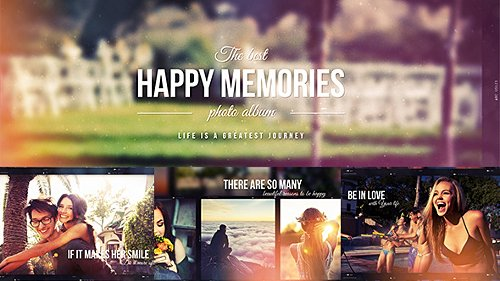 Happy Memories - Project for After Effects (Videohive)