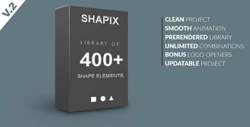 Shapix - Shape Elements Pack - Project for After Effects (Videohive)