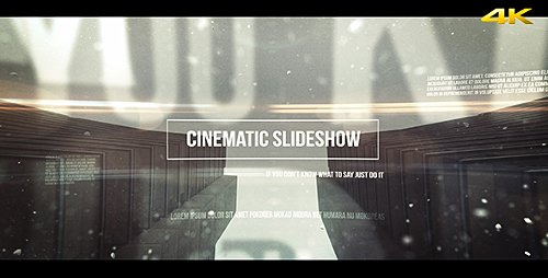 Cinematic Slideshow - Project for After Effects (Videohive)
