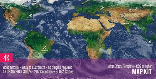 Map Kit - Project for After Effects (Videohive)