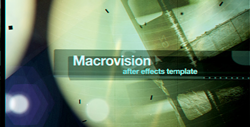 Macrovision - Project for After Effects (Videohive)