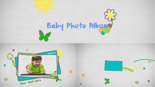 Baby Photo - Project for After Effects (Videohive)