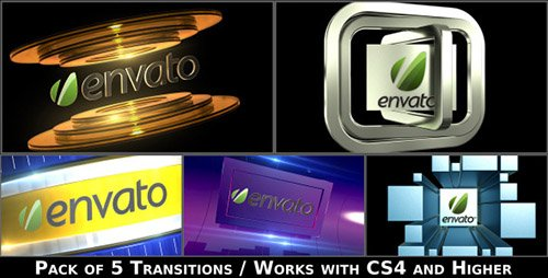 Broadcast Logo Transition Pack V2 - Project for After Effects (Videohive)