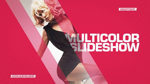 Multicolor Slideshow - Project for After Effects (Videohive)