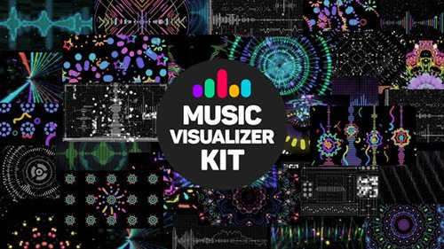 Music Visualizer Kit - Project for After Effects (Videohive)