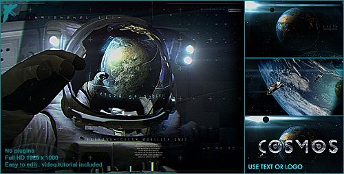 Earth Cosmo Logo - Project for After Effects (Videohive)