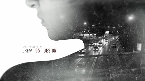 Double Exposure Movie Intro - Project for After Effects (Videohive)