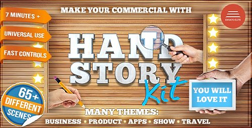 Hand Story Kit - Professional Explainer Builder | Cool Product and Services Commercial - Project for After Effects (Videohive)