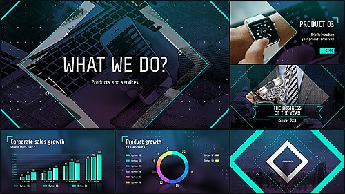 Business of the Future – Modern Corporate Presentation - Project for After Effects (Videohive)