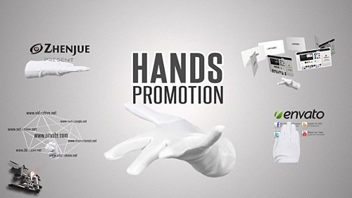 Hands Promotion Pack - Project for After Effects (Videohive)
