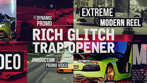 Rich Glitch Trap Opener - Project for After Effects (Videohive)
