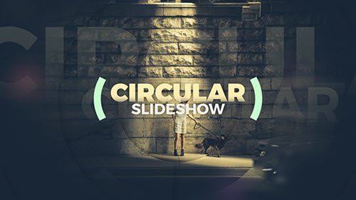 Circular Slideshow - Modern Elegant Parallax Opener - Project for After Effects (Videohive)