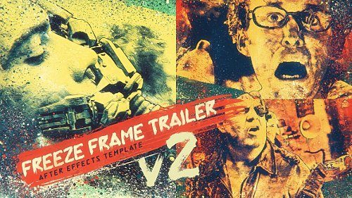 Freeze Frame Trailer V2 - Project for After Effects (Videohive)