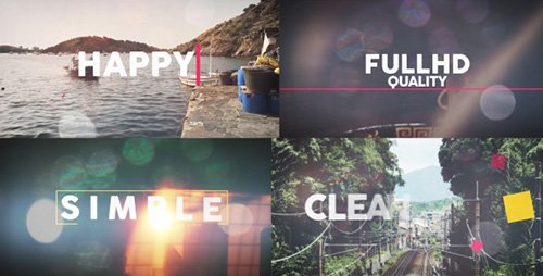 Happy Summer Opener - Project for After Effects (Videohive)