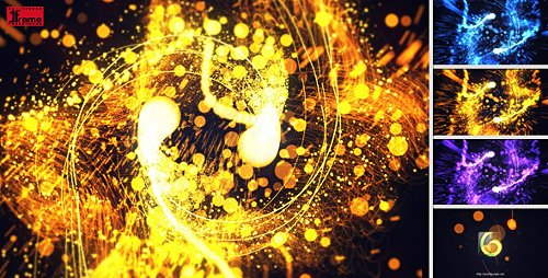 Elegant Particles - Project for After Effects (Videohive)