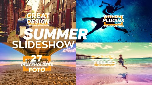 Summer Slideshow - Project for After Effects (Videohive)