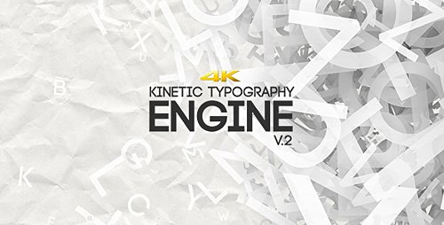 Kinetic Typography Engine V2 4K - Project for After Effects (Videohive)