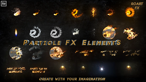 Particle FX Elements - Project for After Effects (Videohive)