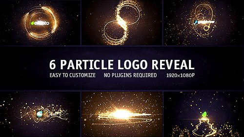Particle Logo Reveal Pack 6in1 - Project for After Effects (Videohive)