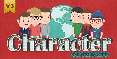 Character Promo Kit - Project for After Effects (Videohive)