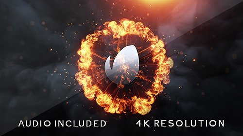 Flame Logo v2 - Project for After Effects (Videohive)
