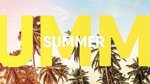 Summer Slides - Project for After Effects (Videohive)