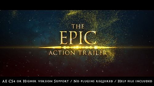 The Epic Action Trailer - Project for After Effects (Videohive)