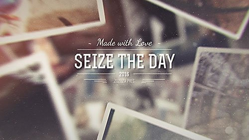Seize the Day - Romantic Slideshow - Project for After Effects (Videohive)
