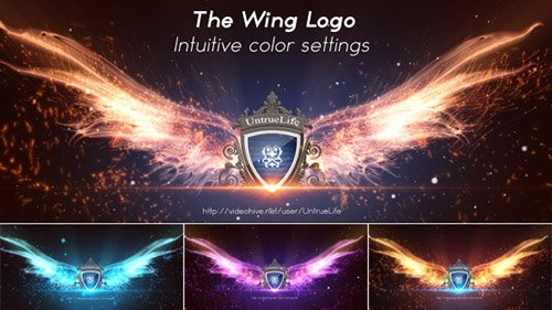 The Wing Logo - Project for After Effects (Videohive)