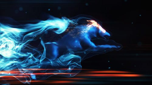 Mystic Wolf Reveal - Project for After Effects (Videohive)