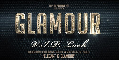 Elegant And Glamour Titles - Project for After Effects (Videohive)