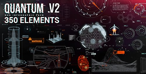 Quantum HUD Infographic v2.0 - Project for After Effects (Videohive)