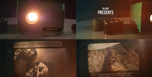 Filmstrip Projector - Project for After Effects (Videohive)
