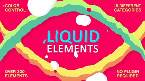 Liquid Elements FX - Project for After Effects (Videohive)