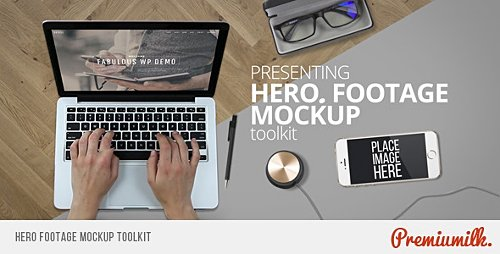 Hero Footage Mockup Toolkit - Project for After Effects (Videohive)
