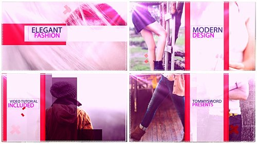 Elegant Fashion - Project for After Effects (Videohive)