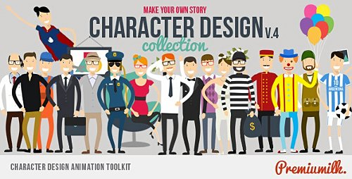 Character Design Animation Toolkit - Project for After Effects (Videohive)
