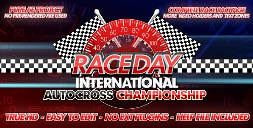 Race Day - A Complete Racing Package - Project for After Effects (Videohive)