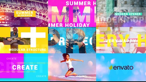 Summer Opener 16705133 - Project for After Effects (Videohive)