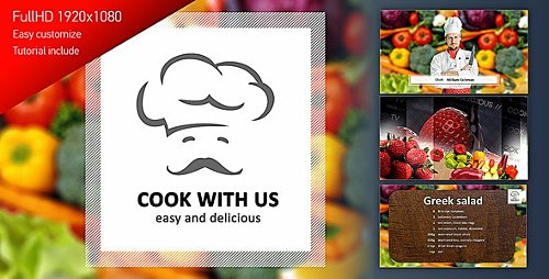 Cook With Us - Cooking TV Show Pack - Project for After Effects (Videohive)