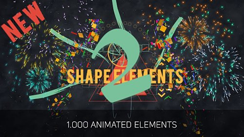 Shape Elements 2 - Project for After Effects (Videohive)