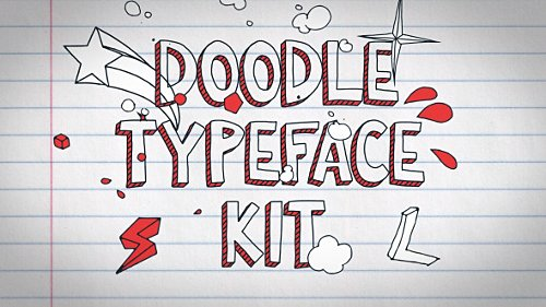 Doodle Typeface Kit - Project for After Effects (Videohive)