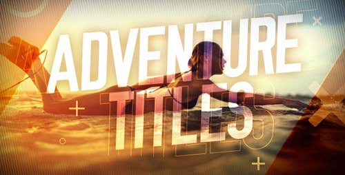Adventure Titles Slideshow - Project for After Effects (Videohive)