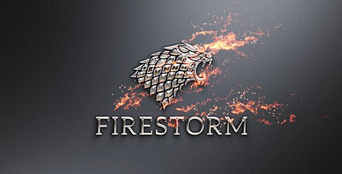 Flame & Metal / Fire Logo Reveal - Project for After Effects (Videohive)