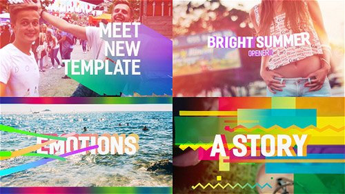 Bright Summer Opener - Project for After Effects (Videohive)